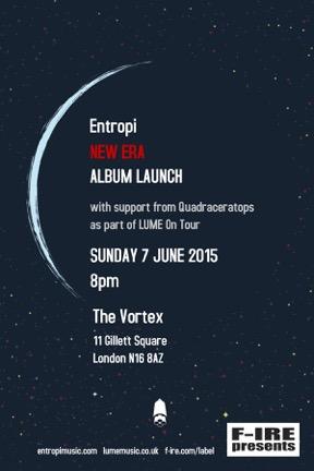 Entropi Album Launch poster