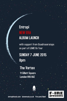 Entropi Album Launch poster